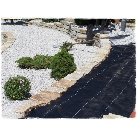 0.8/1.1/1.6m Garden weed control fabric ground cover membrane landscape mulch