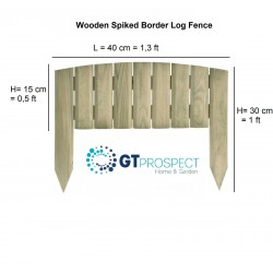 Wooden fencing Posts 250 cm x 7 cm x 7 cm treated timber post