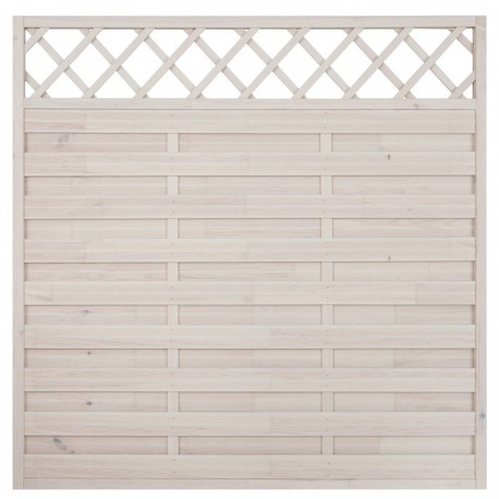 """Wooden fence Panel """"OSLO"""" 1800x1800x50 mm (6ft x 6ft approx.)"""