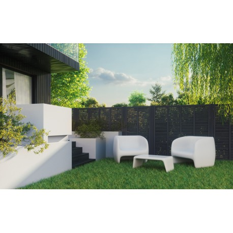 """""""NADINE"""" 1800x1800x32mm Wooden fence Panel (6ft x 6ft approx.)"""