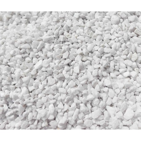 1kg 60-120 EXTRA WHITE Pebbles Polished Cobbles Natural Marble