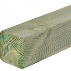Wooden fencing Posts 200 cm x 7 cm x 7 cm treated timber post